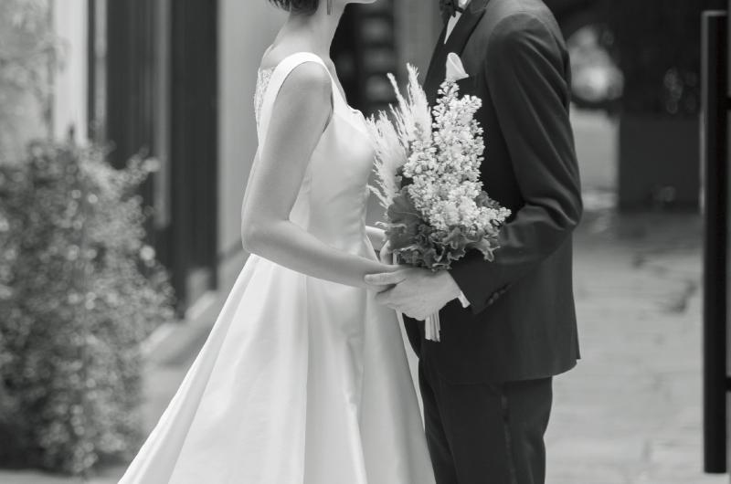 二人だけの結婚式