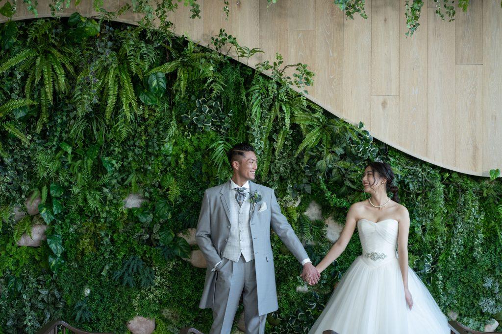 結婚式 手つなぎ