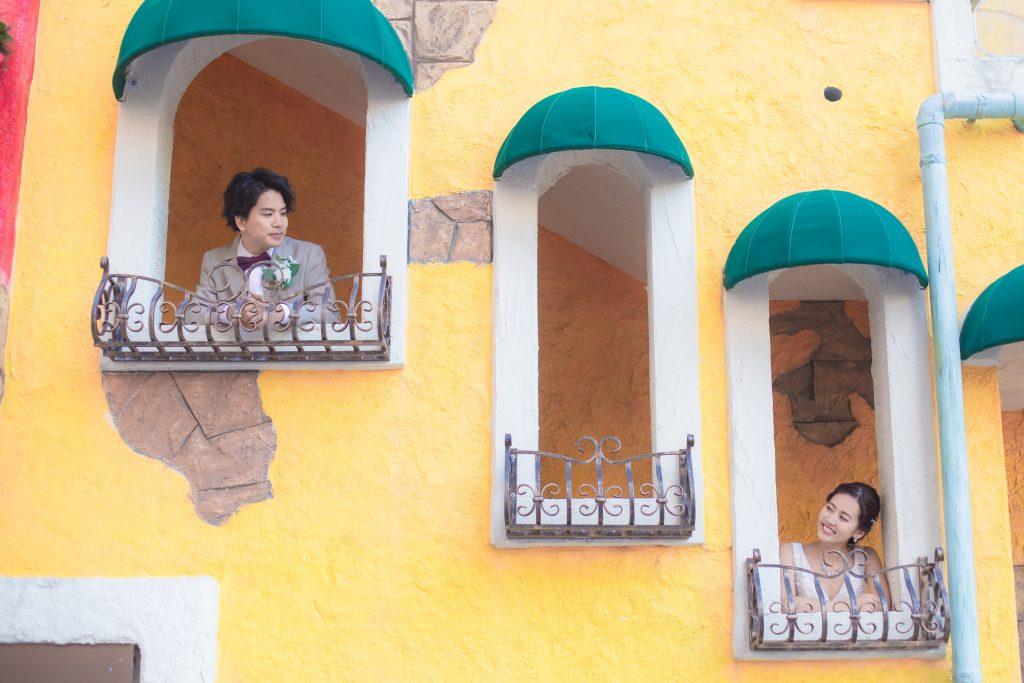 リゾートフォトウェディング_ミハマ_窓