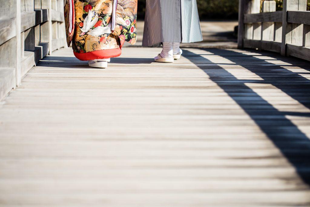 衣裳小物 和装 フォトウェディング 足元ショット 草履 足袋 演出 ロケ―ション撮影 前撮り