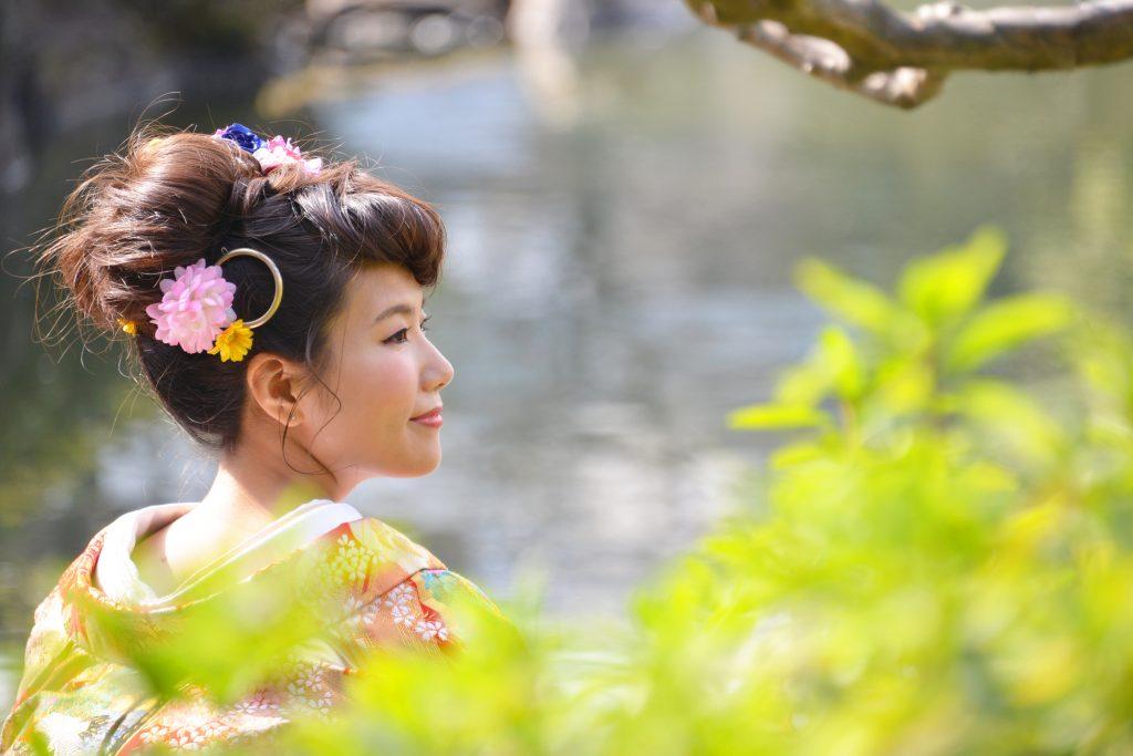和装 髪型 新日本髪